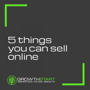 5 things you can sell online